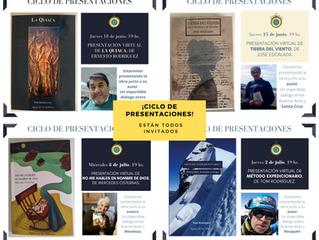 ¡Ciclo de presentaciones virtuales con autores de todo el país!