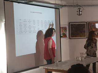 Presentación de Eneagrama, los números en nuestra vida, en Buenos Aires.