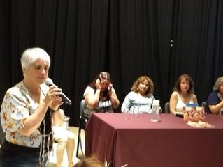 Presentación de Mujeres con historias, en Mendoza.