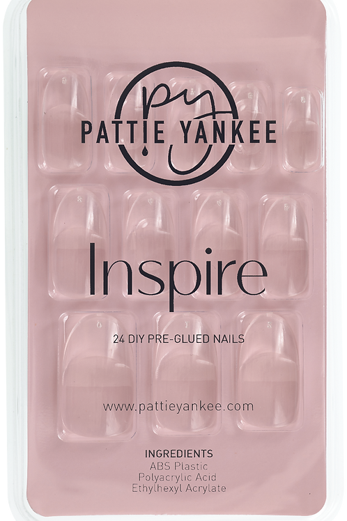 Inspire Nails (Clear Almond)