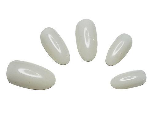 """""""The Gia"""" Custom Almond Nail Set in 'Halo'"""