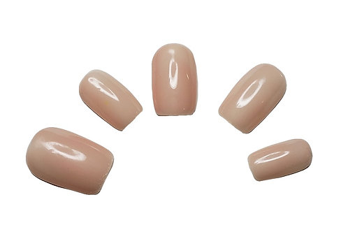 """The Chrissy"" Custom Square Nail Set in 'Hope'"
