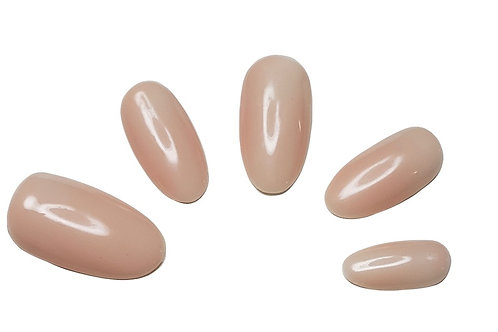 """The Chrissy"" Custom Almond Nail Set in 'Hope'"