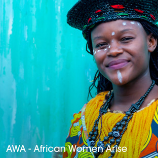 AWA: African Women Arise - Zimbabwe  We first met AWA in 2014 and fell instantly in love with her electric energy and political lyrics. A 25 year old emcee and vocalist from Bulawayo, Zimbabwe, AWA raps about women's rights, gender based violence and the political struggle in Zimbabwe.