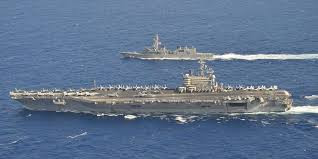 The USS Ronald Regan VS Chinese Liaoning