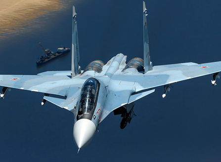 Russia To Deploy Su-30 With KH30 Missile Against US Carriers