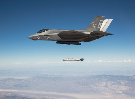 F-35 Is Capable Of Dropping 8 GBU Bombs Even In Stealth Mode