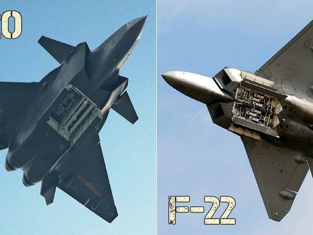 American F22 Vs Chinese J20 The Fight For The Best