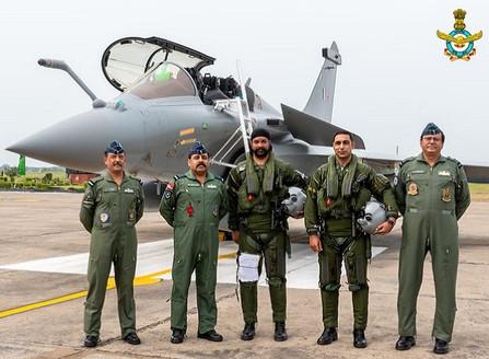 Ambala Air Base Welcomes Dassault Rafale Jets