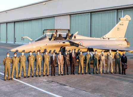 French Made Dassault Rafale Jets To Meet Indian Soil Soon