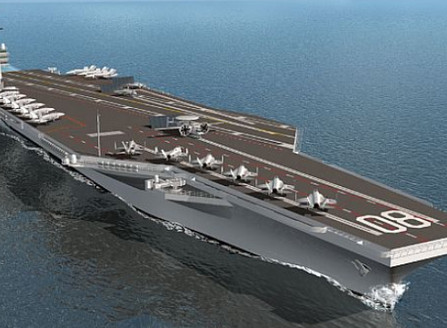 How Aircraft Carrier Of The Future Look Like