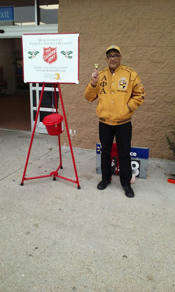 2017 Salvation Army Bell Ringing 3