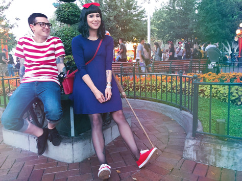 Quick & Easy Kiki's Delivery Service Couples Costume
