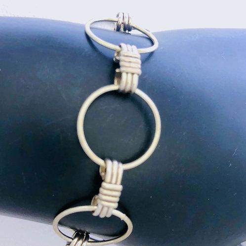 Loop and Hook Bracelet