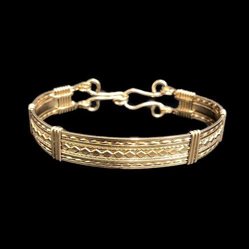 Diamond  Pattern Bracelet