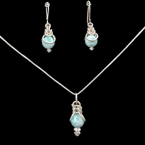 Larimar Chainmaille Set