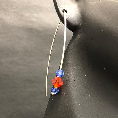 Almond Drop Earrings