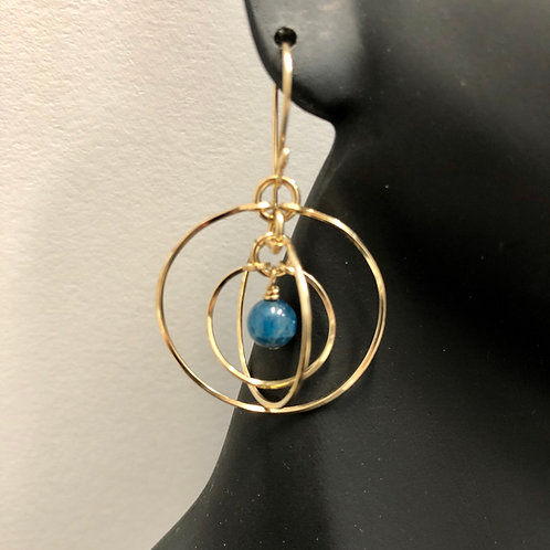 Apetite Tri-Circle Earrings