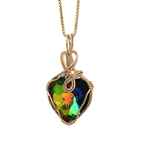 Vitrail Medium Heart Pendant