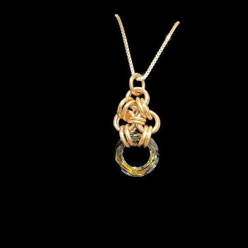 Tobac Cosmic Chainmaille Pendant