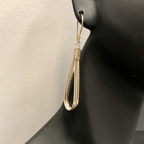 Teardrop Earrings (Lrg)