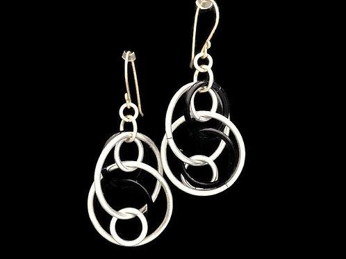 Illusion Loops Earrings