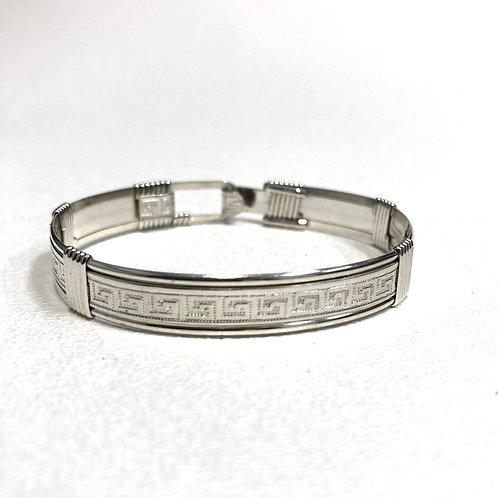 Maze Pattern Bracelet