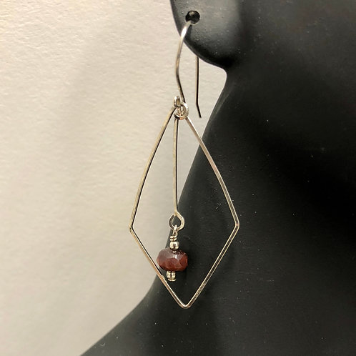 Diamond Dangle Earring