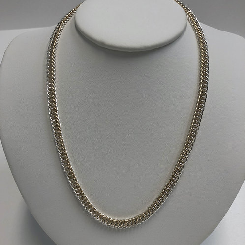 Half Persian 4 in 1 Necklace Two Tone