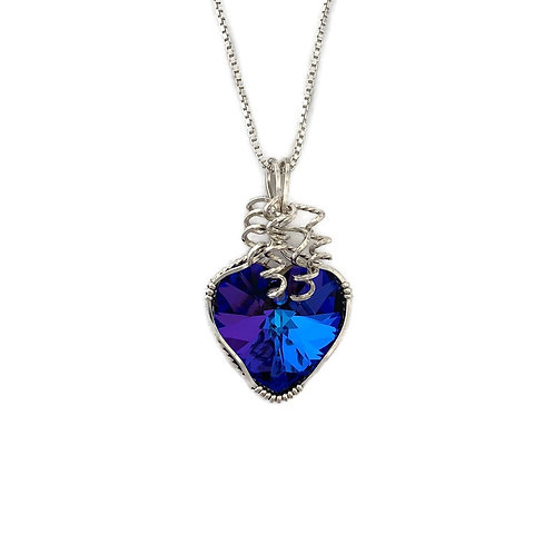 Helitrope Heart Pendant
