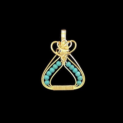 Turquoise Egyptian Pendant