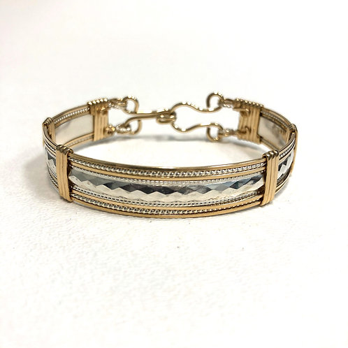 Diamond Pattern Bracelet