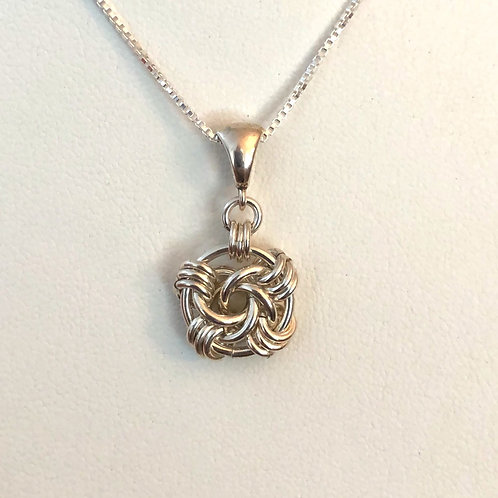 Swirls Chainmaille Necklace