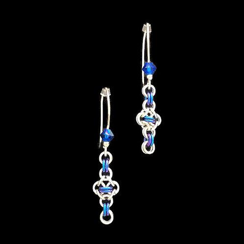 Double Cross Earrings