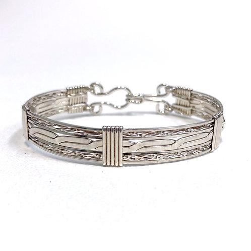 Double Mill Bracelet