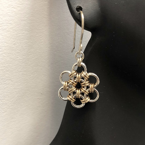 Japanese Daisy Earrings