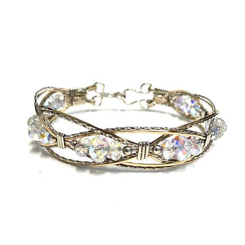 Crystal AB Lacey Bracelet