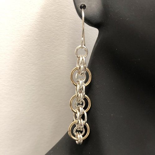 Double Loops Earrings