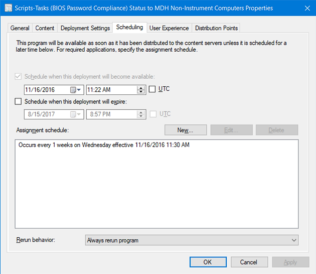 Dell and HP BIOS Password Compliance