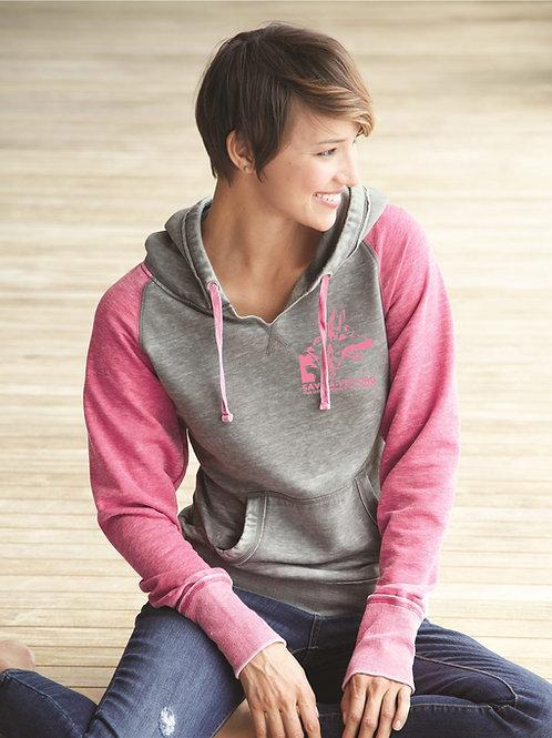 Women's Zen Fleece Raglan Hooded Pullover Sweatshirt