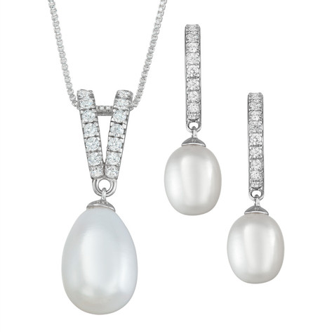 Earing and Pendant set