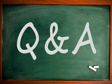 Q & A ! Ask Us Anything!