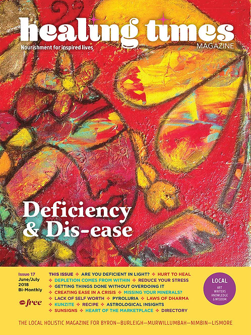 Issue 17 - Deficiency & Dis-ease