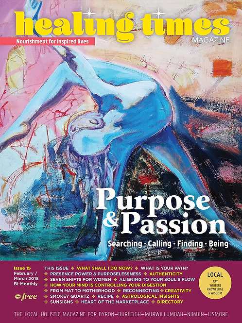 Issue 15 - Purpose & Passion