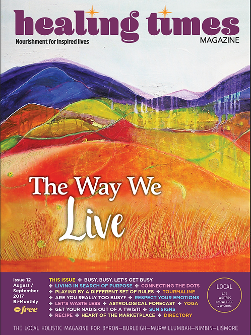 Issue 12 - The Way We Live