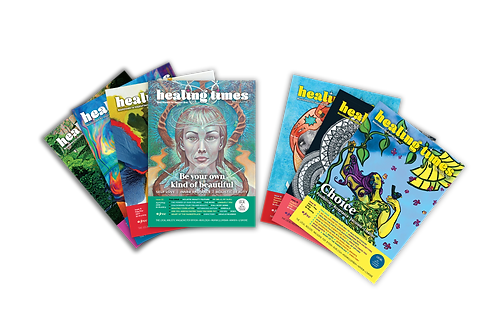 1 Year Subscription to Healing Times, incl. postage