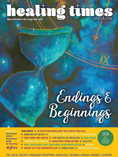 Issue 20 - Endings & Beginnings