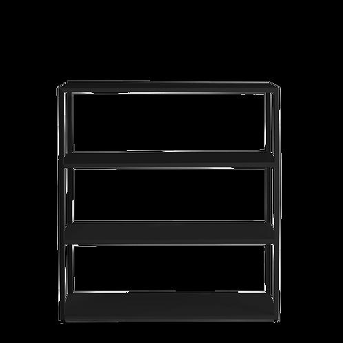 Bookstand HYLLER METAL 100x110, black
