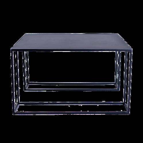 Coffee table TORGET METAL 80 - black