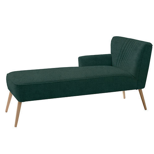 Chaise Lounge HARRY L - avocado(rv38), natural